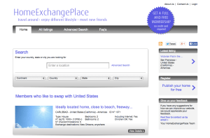HomeExchangePlace.com