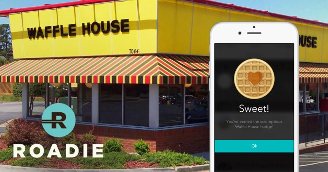 Roadie and Wafflehouse