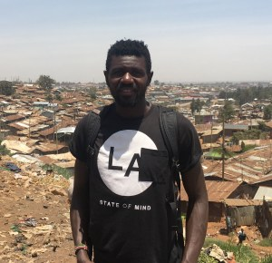 Diddy, the Kibera tour guide