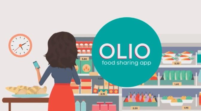 Olio food sharing
