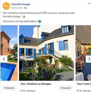 HomeExchange advertising