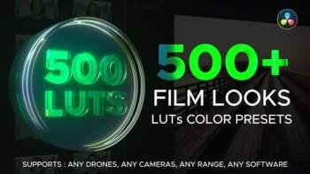 LUT Color Presets for DaVinci Resolve