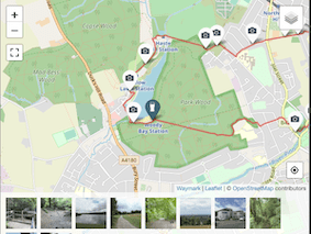 The maps are the key to getting more from shareyourroute.com