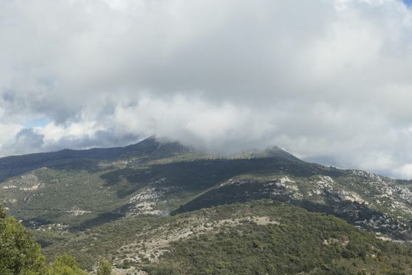 The last photo on the La Turbie 2 hour walk