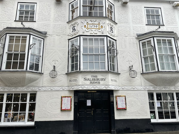 The Salisbury Arms, marks the end of the Historic Hertford to Haileybury walk