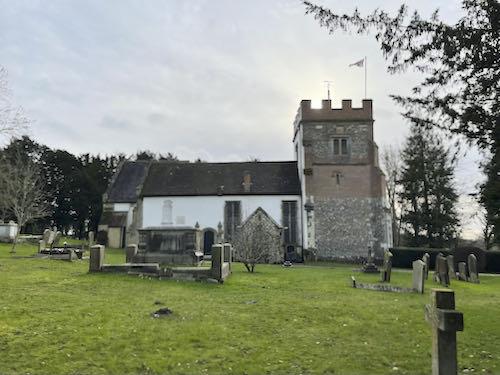 St Mary's Church on the Ruislip to Harefield Loop walk