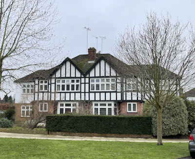 Eastcote Park Estate and the final part of the Eastcote House & 8 park walk