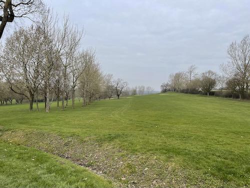 Uxbridge golf course on the Swakeleys to Grand Union loop walk