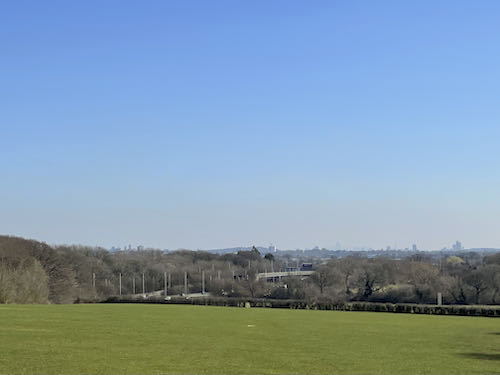 View on the Swakeleys to Grand Union loop walk