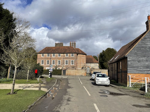 A view of the old Manor house on the Little Missenden loop