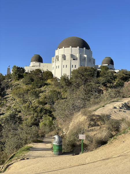 First site of the Observatory on the Ferndell to Griffith Park walk