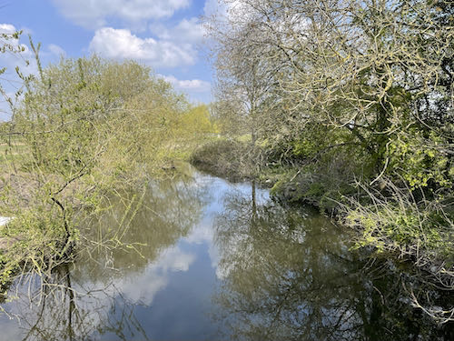 Cross the Colne on the Watford to Aldenham Country loop