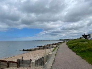 Faversham to Whitstable walk along Saxon Shore Way
