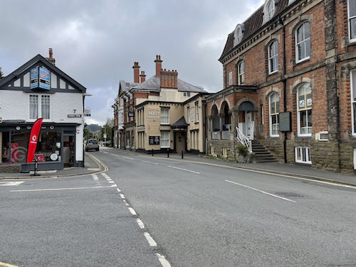 The Church Stretton & Long Mynd walk begins in the town centre.