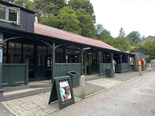 A cafe and toilets on the Church Stretton & Long Mynd walk