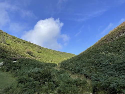 Near the top on the Church Stretton & Long Mynd walk