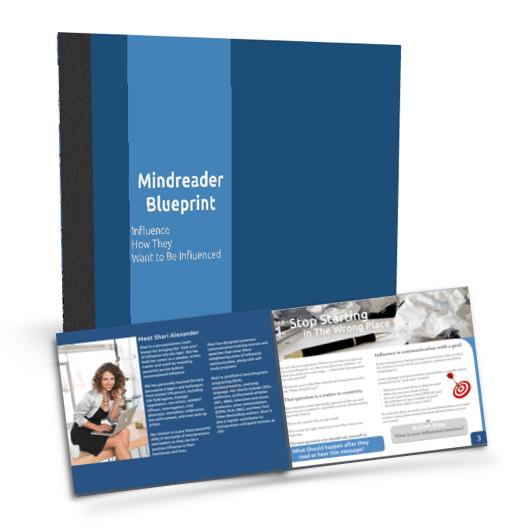 Sharí Alexander's Mindreader Blueprint