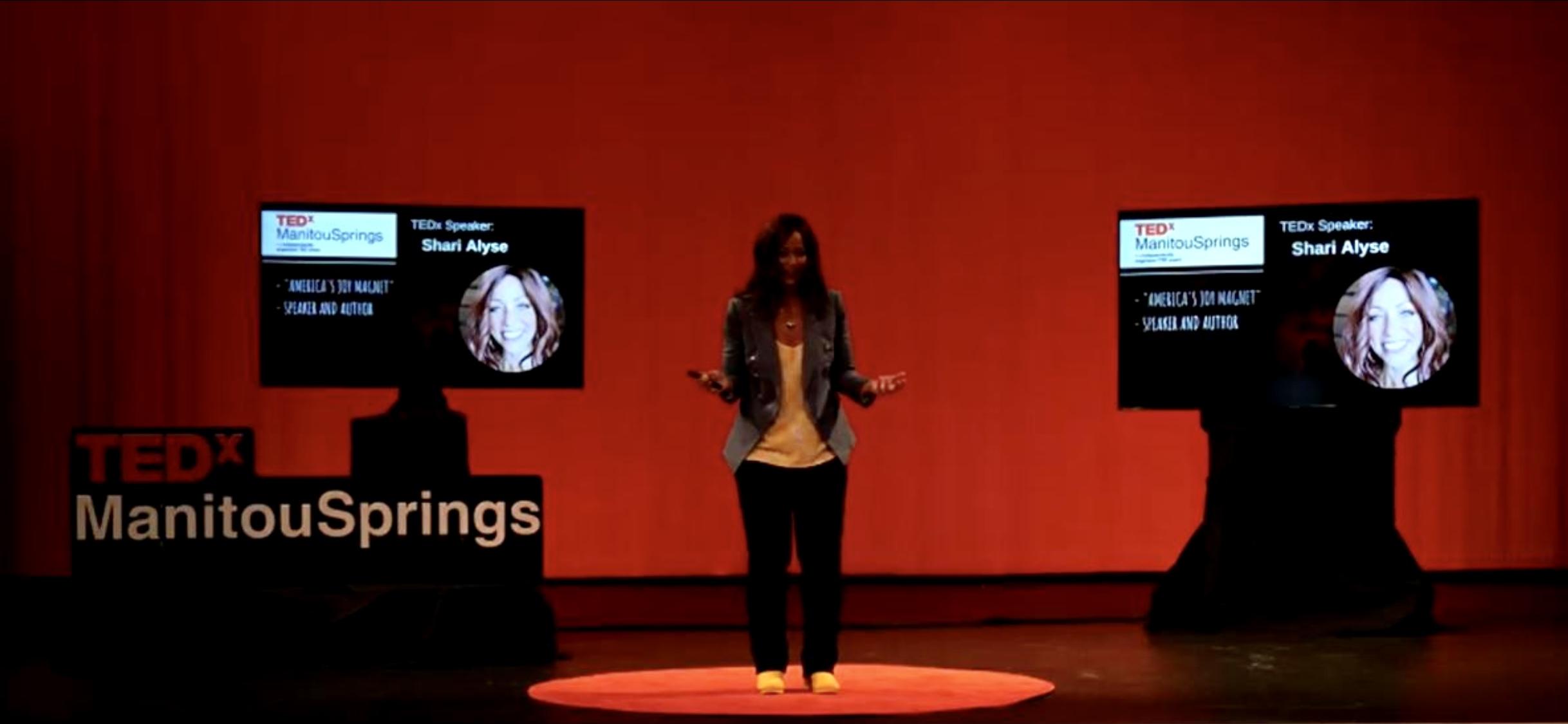 speaking at TEDx