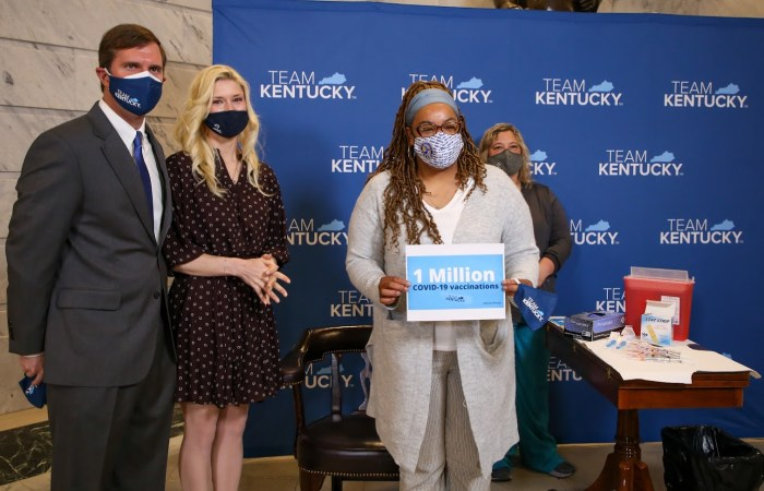Kentucky celebrates 1 million vaccinations