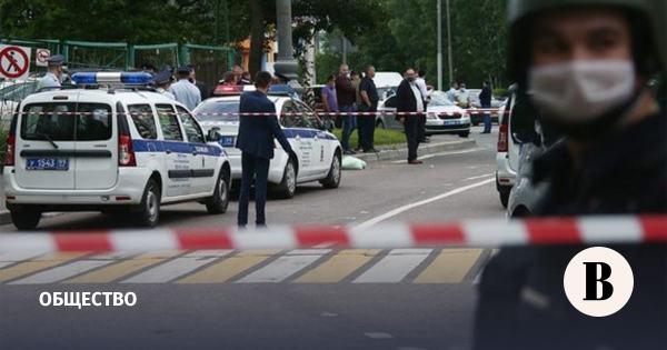 Раненных при стрельбе на Ленинском проспекте полицейских ...