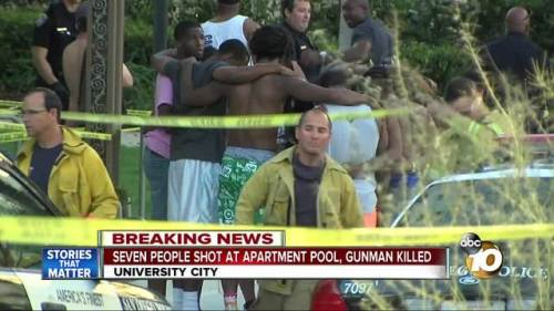 Image result for black pool party; pictures; images; shooting; san diego