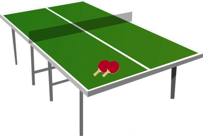 Lapangan Meja tenis
