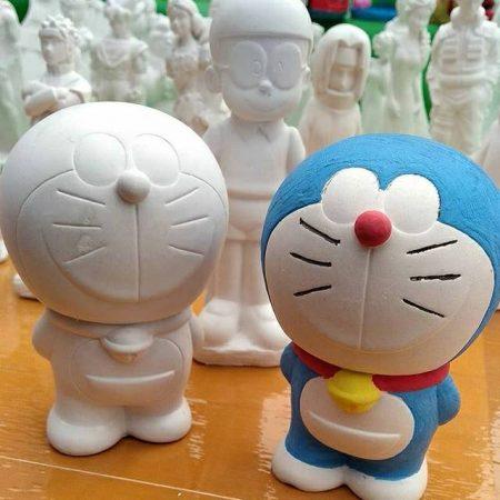 Kerajinan Dari sabun Bentuk Doraemon