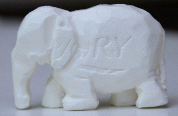 Kerajinan Sabun Berbentuk Gajah