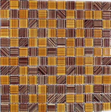 Gambar Mozaik Dari Potongan Kayu