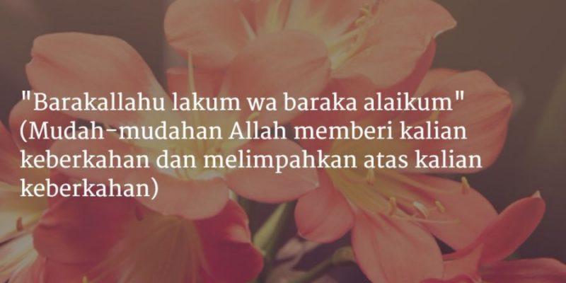 Ucapan Pernikahan Islami untuk Sahabat