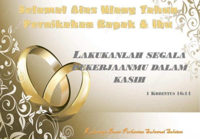 Ucapan Pernikahan yang Tulus