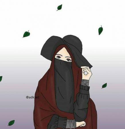 Gambar Kartun Muslimah Islami