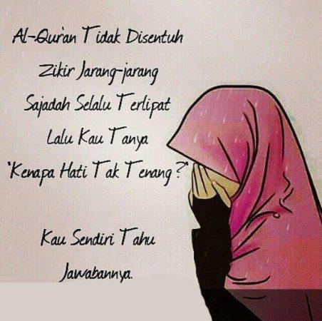 Gambar Kartun Muslimah dan Kata kata 10