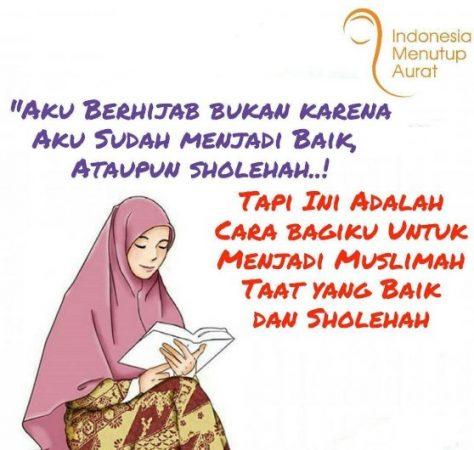 Gambar Kartun Muslimah dan Kata kata 5