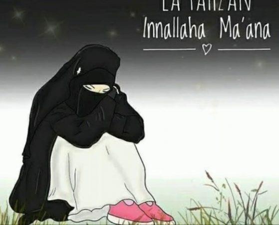 Gambar Kartun Muslimah dan Kata kata 9