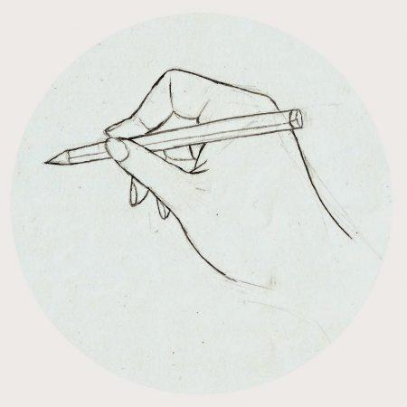 langkah Menggambar dan Mengarsir dengan Pensil