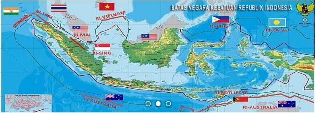 Batas Wilayah Indonesia Secara Astronomis