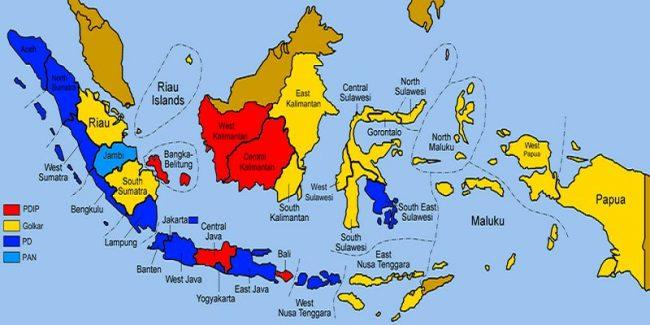 So pada gambar peta indonesia. Peta Indonesia Terlengkap Gambar Beserta Penjelasannya
