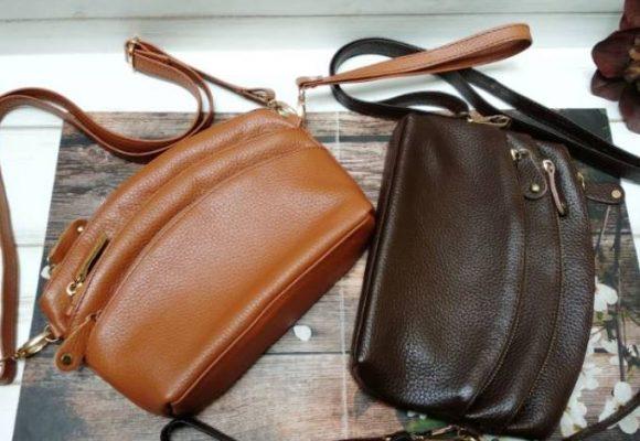 Tas dan dompet kulit sapi