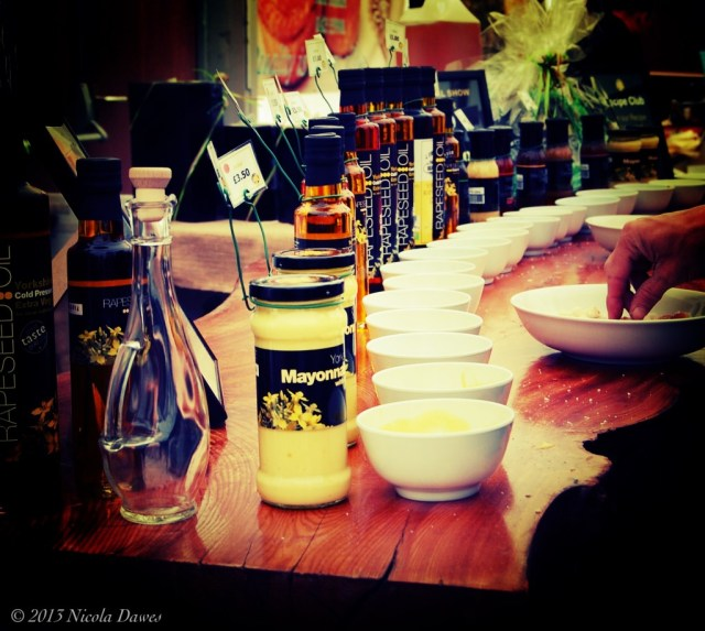 sharingourfoodadventures.com Flavoured Oils and Mayonaise