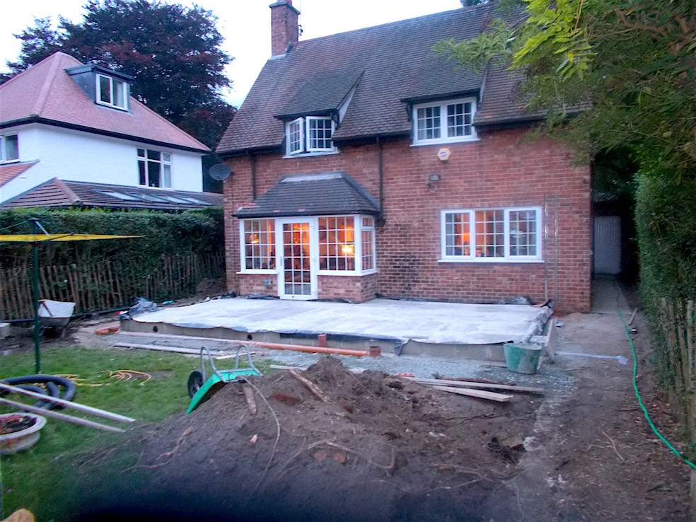 The Extension begins - October 2015
