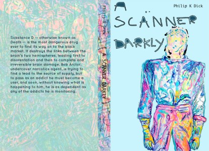 A SCANNER DARKLY BOOK COVER