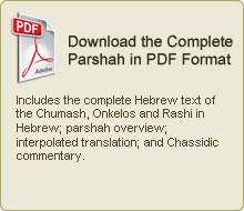 Download complete Parsha