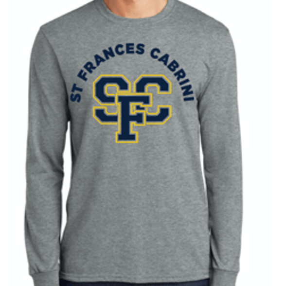 SharingWell_Event_Planning_St_Frances_Cabrini_LongSleeve_T-Shirt.