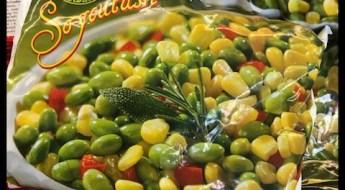 edamame, red pepper, corn, frozen vegetables