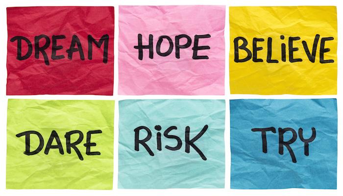 risk, dream, success