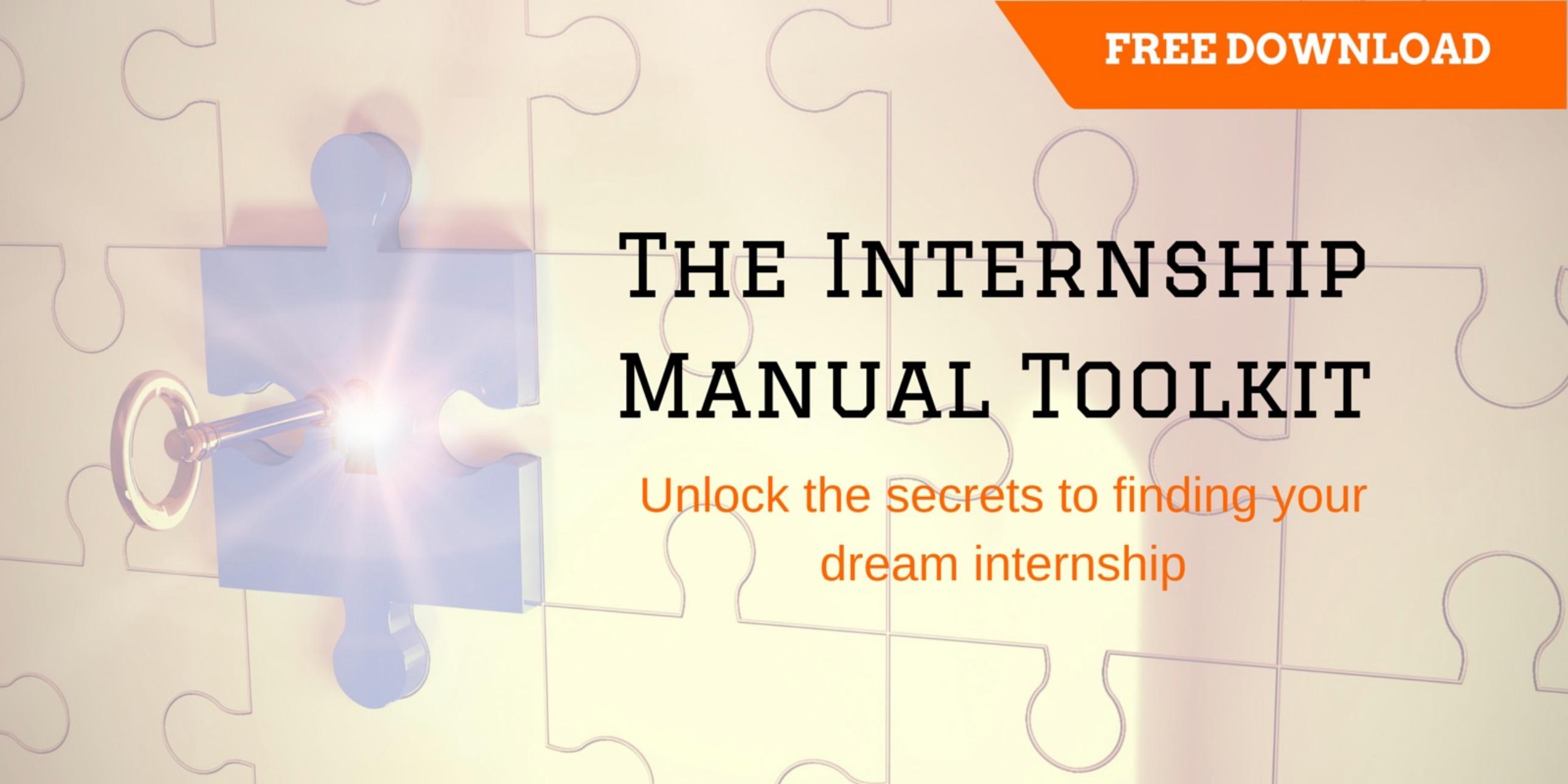 Internship Manual Toolkit