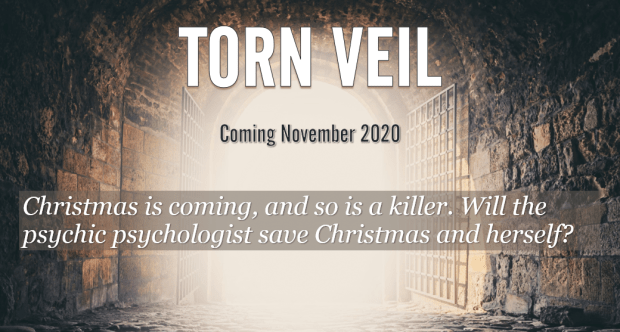 Torn Veil, a murder mystery with a paranormal twist