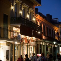 New Orleans at night
