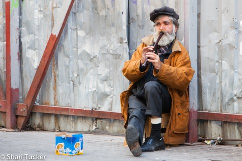 Flute Man - Galata District